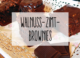 Walnuss-Zimt-Brownies